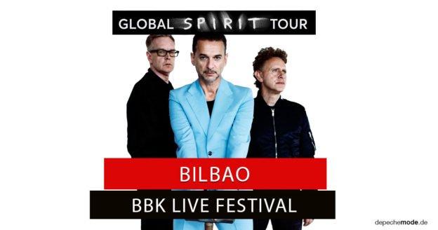 Depeche Mode Beim Bbk Live Festival In Bilbao