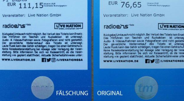 Depeche Mode: Gefälschte Konzert-Tickets aufgetaucht!