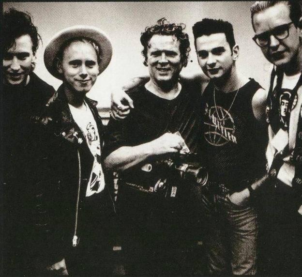 Depeche Mode mit DA Pennebaker