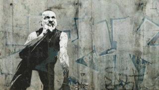 Dave Gahan im Banksy-Style