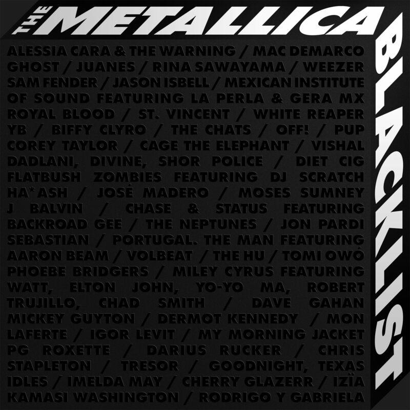"""Albumcover von """"The Metallica Blacklist"""