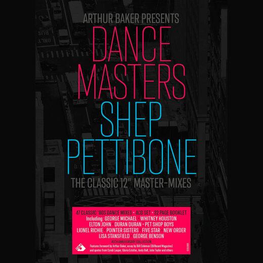 "Albumcover von ""Dance Masters – The Shep Pettibone Master-Mixes"""