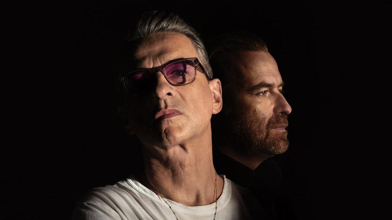 Foto von Dave Gahan und Rich Machin