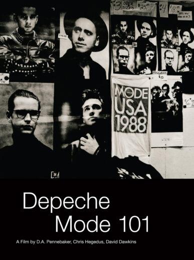 """Cover der DVD """"101"""" von Depeche Mode"""